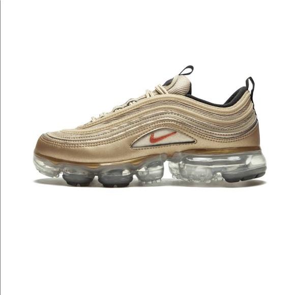 quality design db4ce 4fb7c Nike Womens Air Vapormax '97 Blur/Vintage Coral